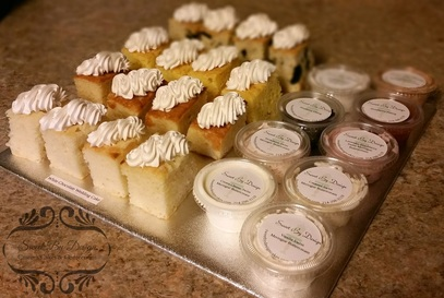 Wedding Cake Tasting Samples