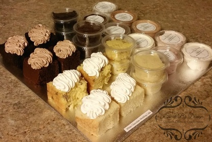 Wedding Cake Tasting To Go Samples
