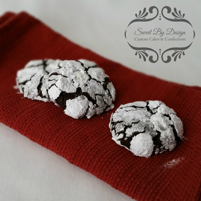 Chocolate Snow Cap Cookies