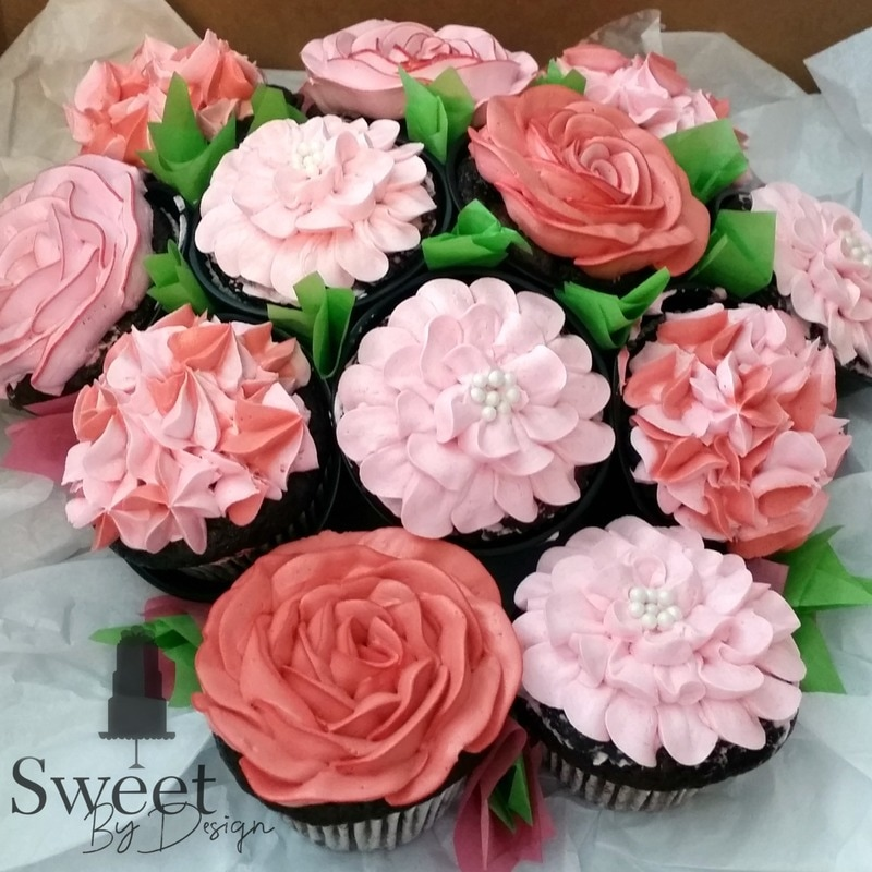 Dallas custom cupcake gallery - Sweet By Design