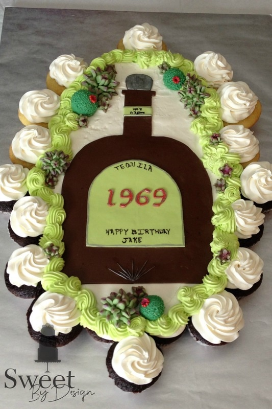 Custom Cupcake Cake by Sweet By Design in Melissa, TX