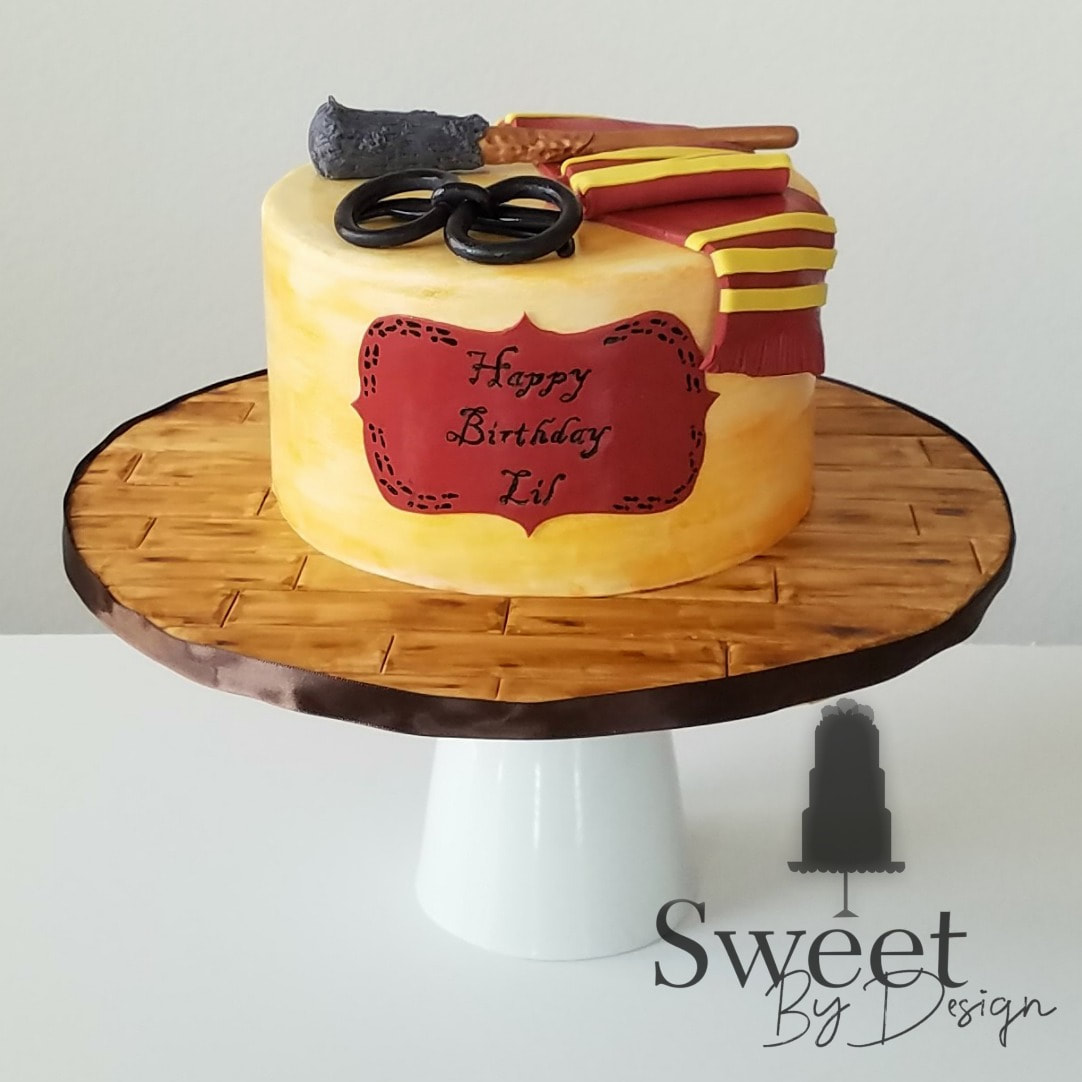 Wizard cake by Sweet By Design in Melissa, TX