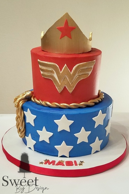 Birthday For A Wonder Woman Sweet By Design