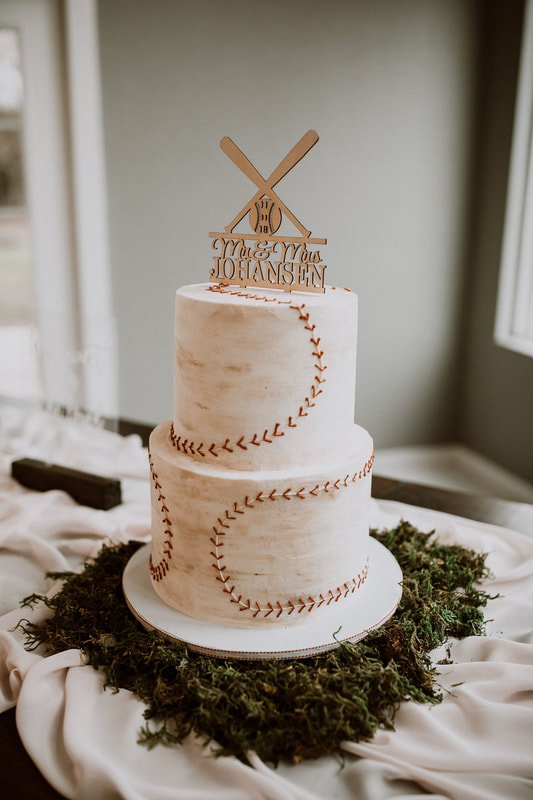 Baseball groom's cake by Sweet By Design